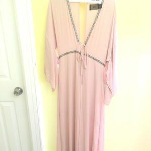 Light Blush Pink H&M dress Size 8 originally $80